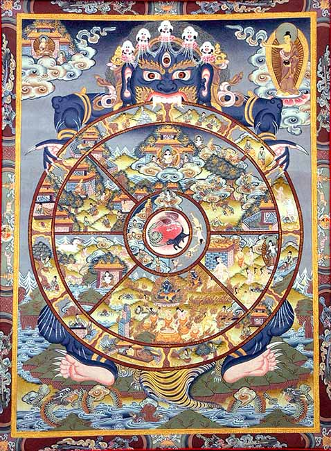 July – Wheel of Life – Five Precepts – Buddism « Kenneth Princeton ...